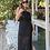 Thumbnail: Vestido Longo Tricot Preto