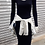 Thumbnail: Vestido Midi Canelado manga longa