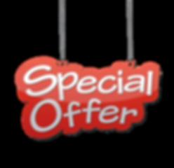 Special Offer Graphic - Transparent (Sma