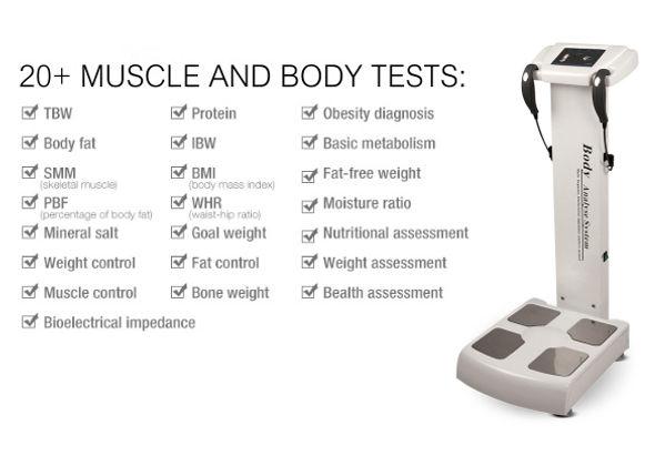 BIA Machine Body Fat Machine Body Analys