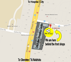 Be Active Fitness Gym Map, Gym Melville, Gym Hamilton, Gym Glenview