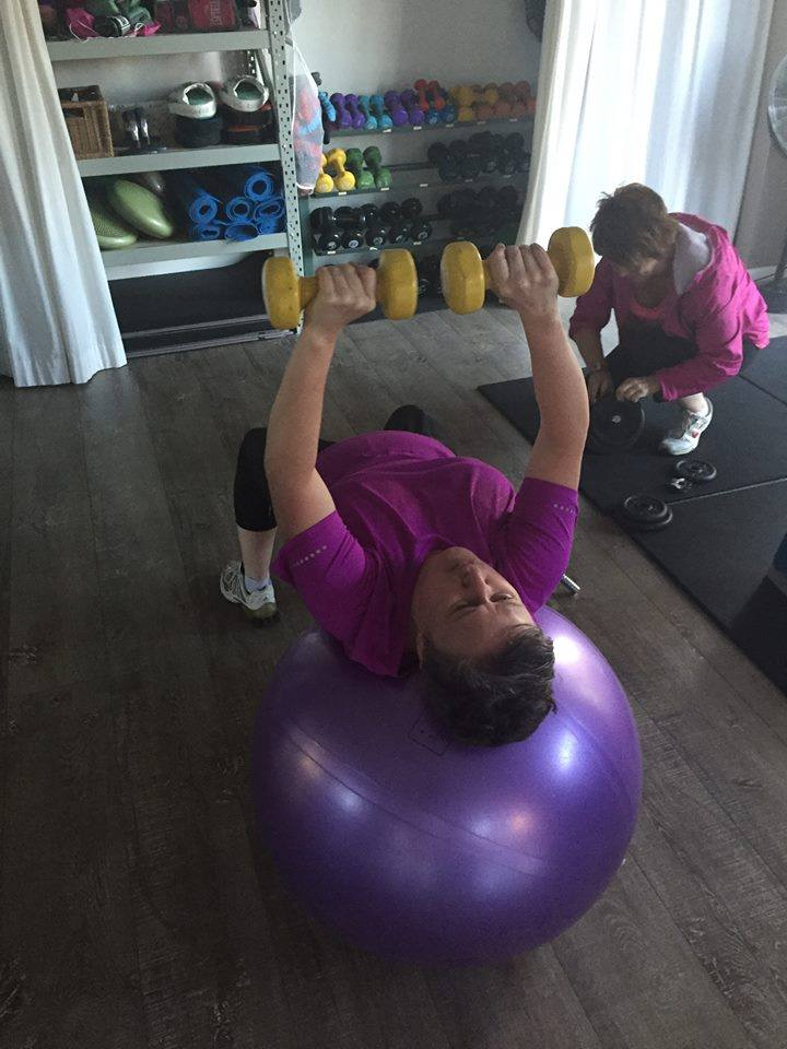 PT with the Fit Ball
