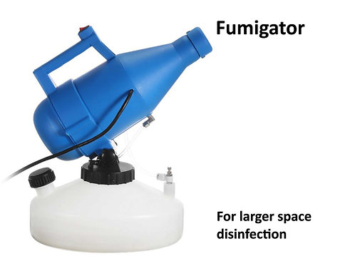 Fumigator machine available Online for School , industries, Malls, Airports  with Srika
