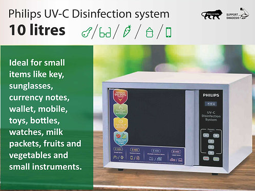 Philips UV-C Disinfection Oven - 10 Litres