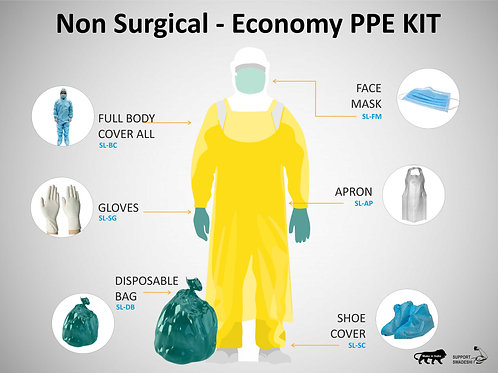 Non Surgical Personal Protective Equipment - COVID-19 Products, Srika