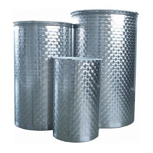 Depósitos acero inox 316 floreados