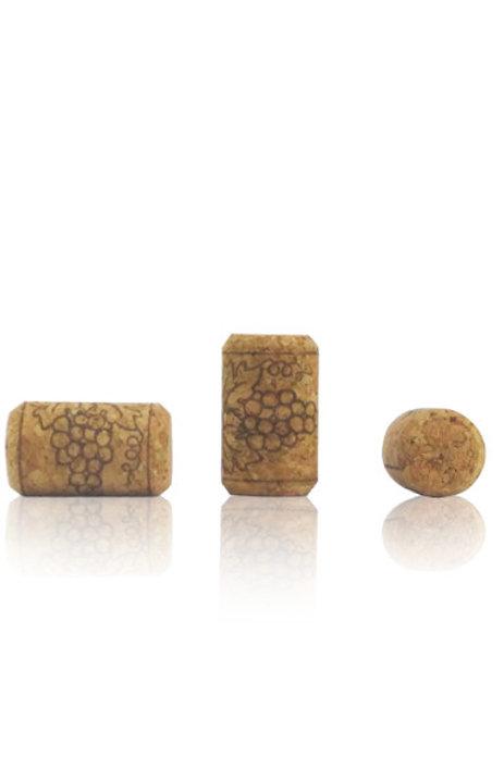 Pack 500 - Corcho aglomerado (38x23) racimos cilíndrico