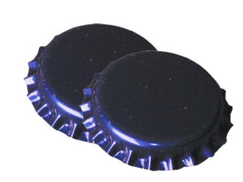 Chapas color azul 26mm 100unid