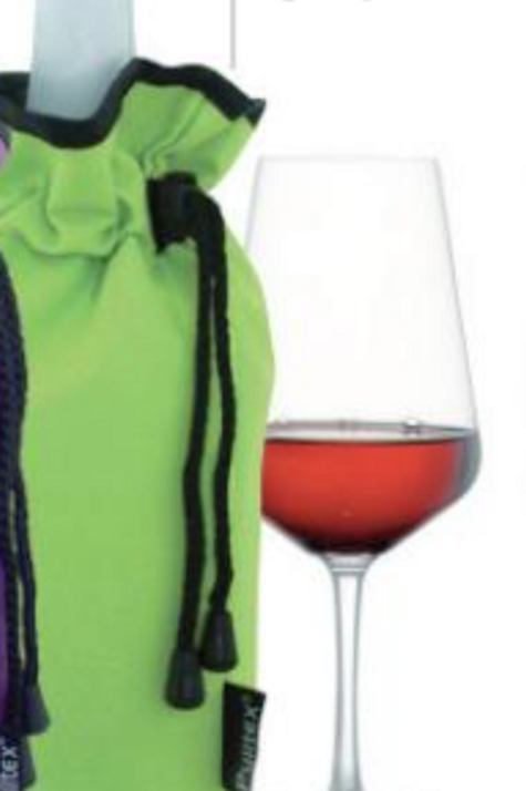 Manta enfriadora Verde-Lima, champán y vino