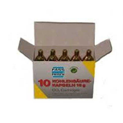 Recambio cartucho C02 (10 unidades)