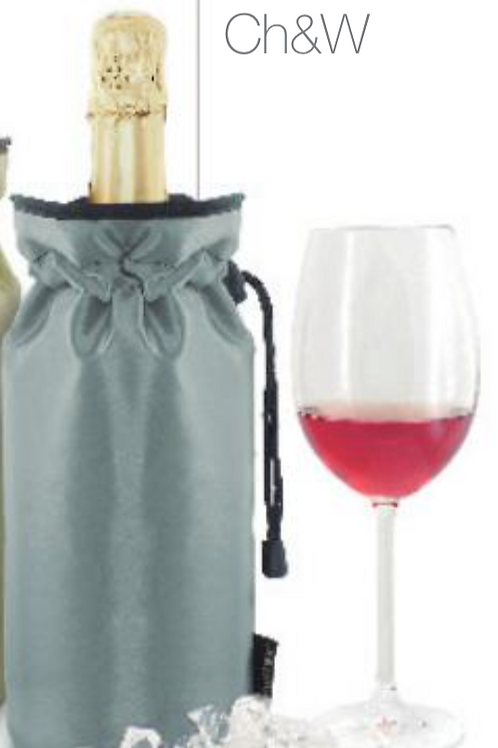 Manta enfriadora Silver, champán y vino