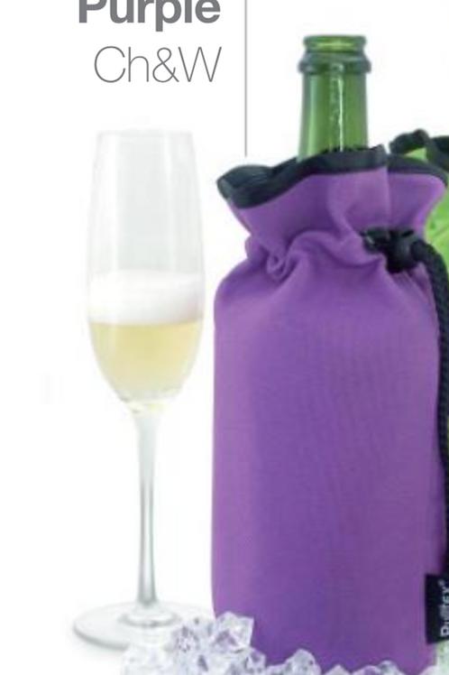 Manta enfriadora Purple, champán y vino
