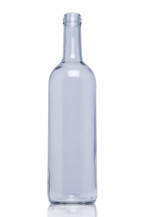 Botella bordalesa blanca 75cl
