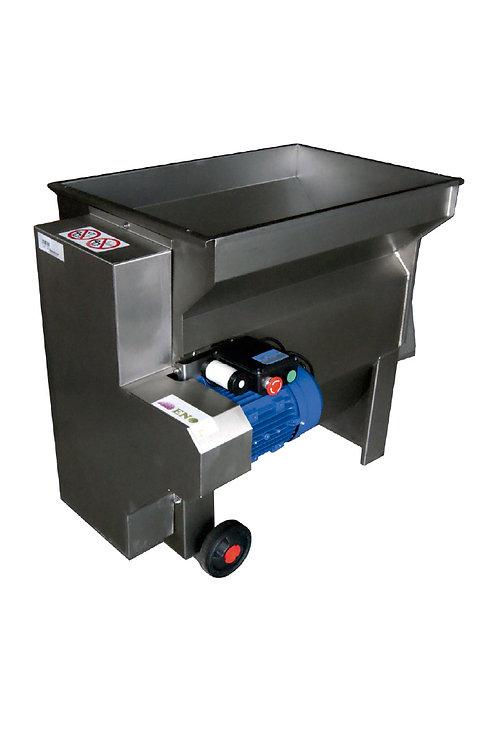 Despalilladora eléctrica monofásica Inox. 3000 kg/H