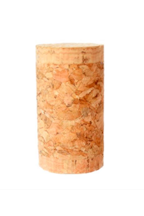 Corcho 1+1 (44x23,5mm) Cabezas Naturales