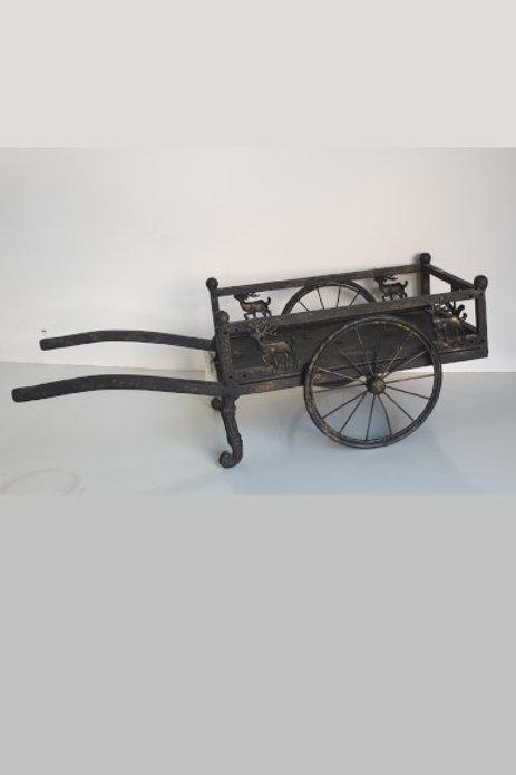 Carro hierro forjado