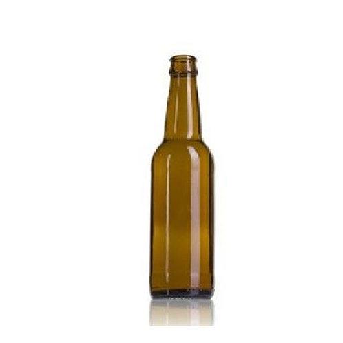 Botellas 33 cl chapa corona (Pack 25)