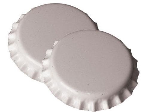 Chapas color blanco 1000unid