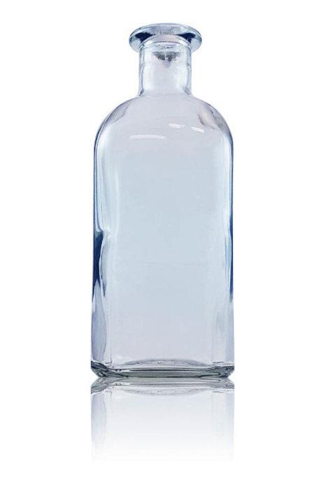 Botella de vidrio frasca 1000 ml + Corcho