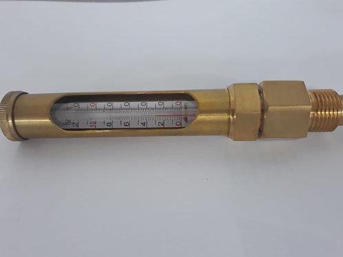 Termómetro vertical 0 - 120º alambique