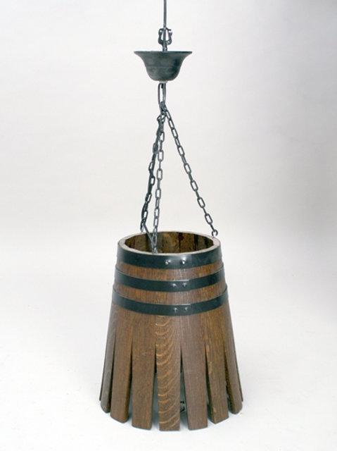 Lámpara barril de techo sin aplique