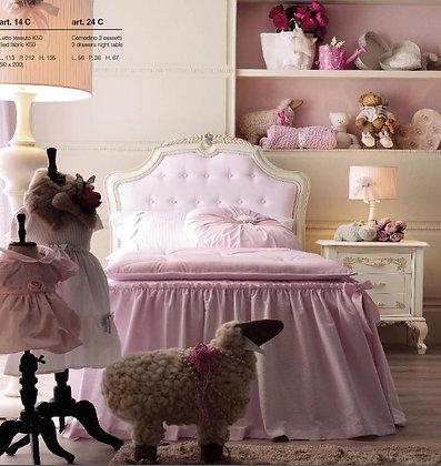 Кровать детская  L 112 p 212 h 135 cm Италия