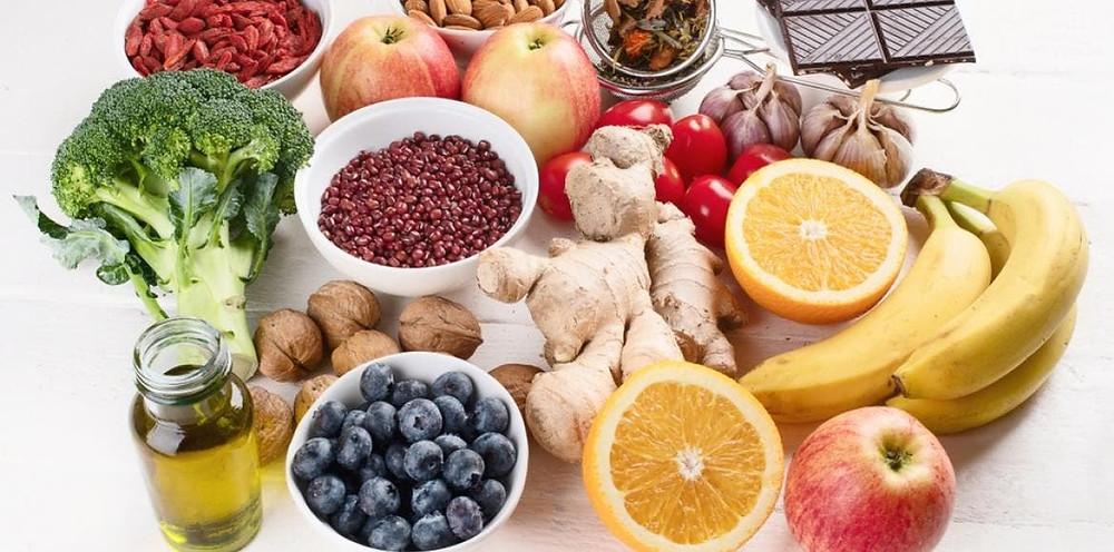 Aliments santé vu à l'école pendant la formation en naturopathie