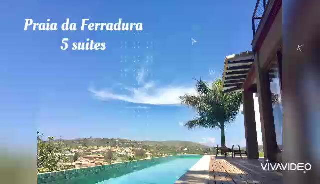 Casa 5 suítes Praia da Ferradura