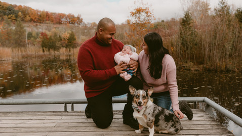 Lovers & Puppers Family Session | Toronto Evergreen Brickworks