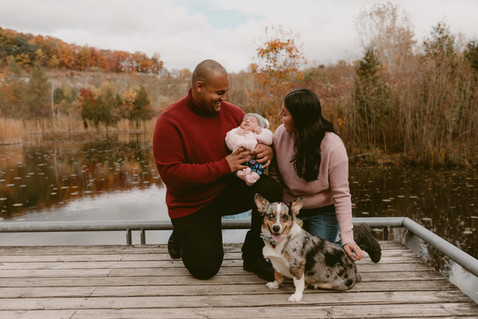 Lovers & Puppers Family Session   Toronto Evergreen Brickworks