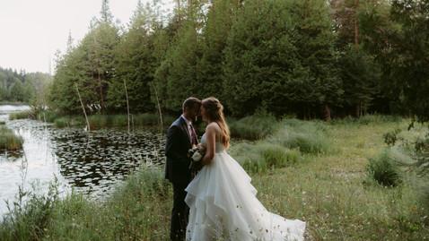 Ontario Lakeside Backyard Wedding | Danica Oliva Photographer