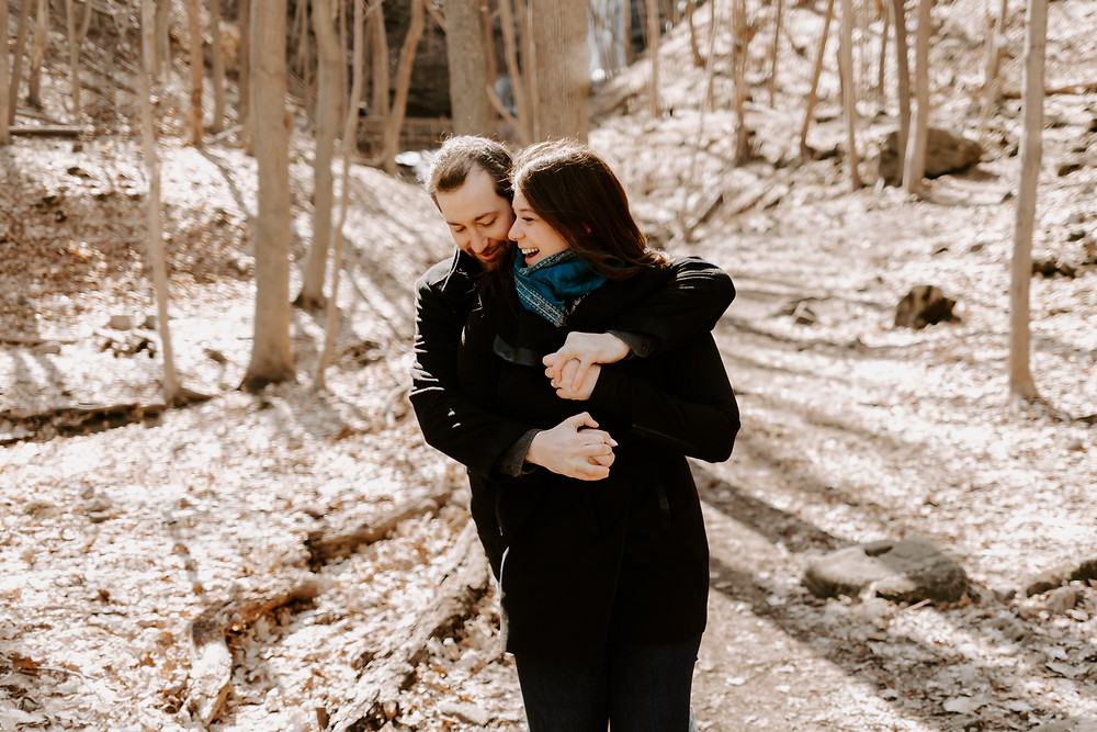 Hamilton Waterfall Engagement, Toronto Wedding Photographer, Danica Oliva Photography