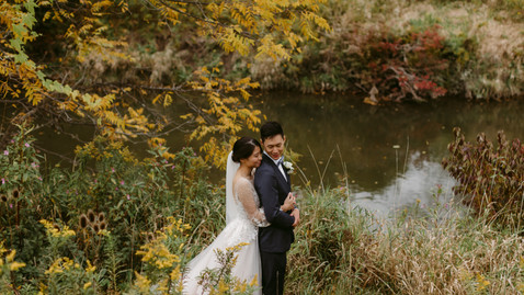 Karrie & Calvin's Madsen's Greenhouse Intimate Wedding | Danica Oliva Photography