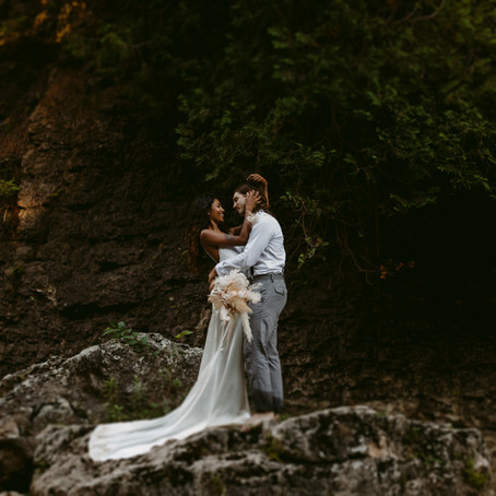 Elora Gorge Elopement Session | Danica Oliva Photography