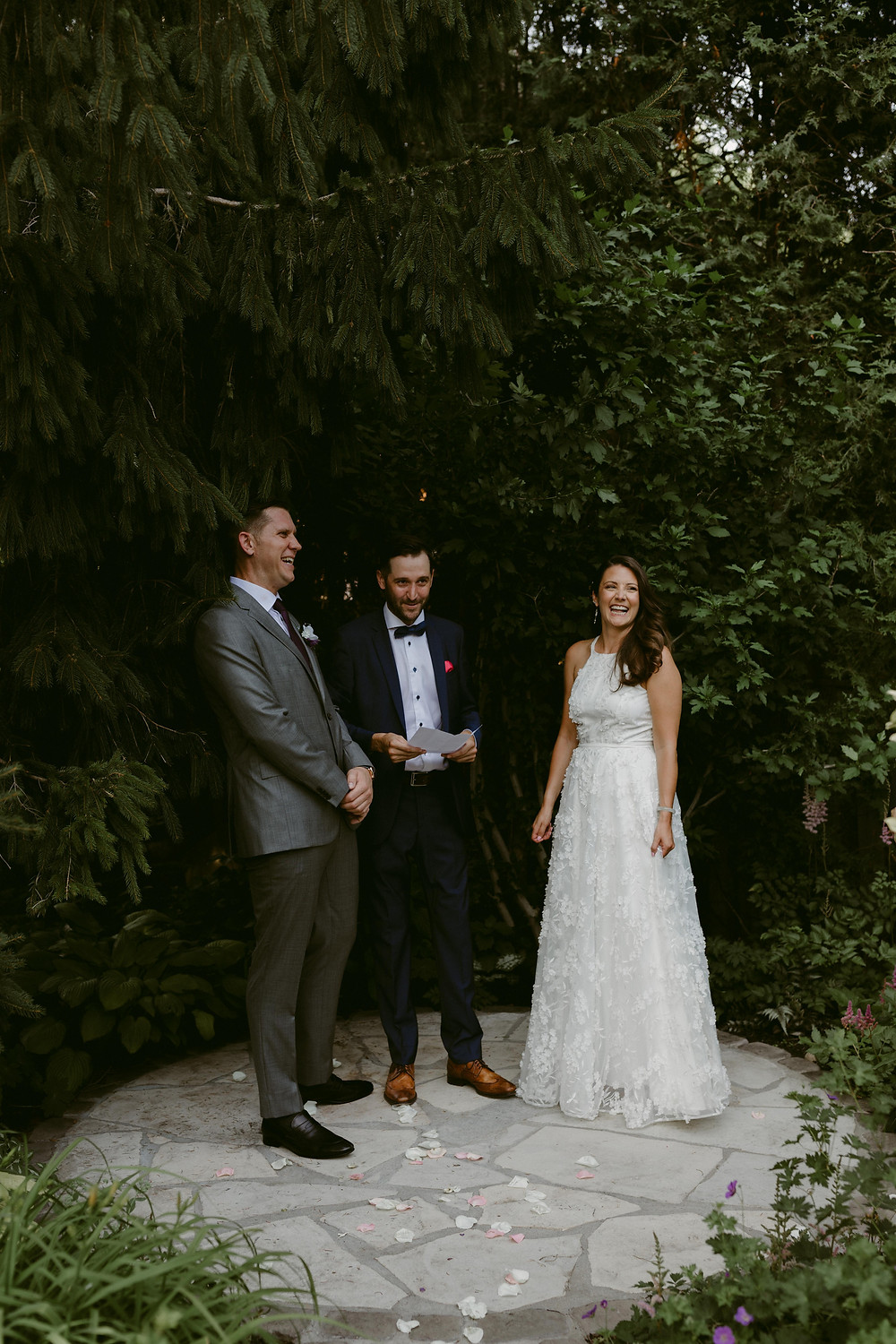Backyard Wedding, Toronto Wedding, Intimate Wedding Photographer,