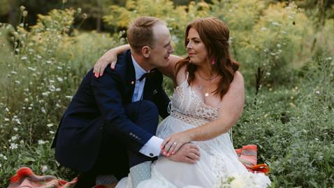 Outdoor Meadow & Tent Wedding | Lauren & Fraser | Danica Oliva Photography
