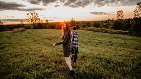 Toronto Sunset Engagement Session  |  Danielle & Connor