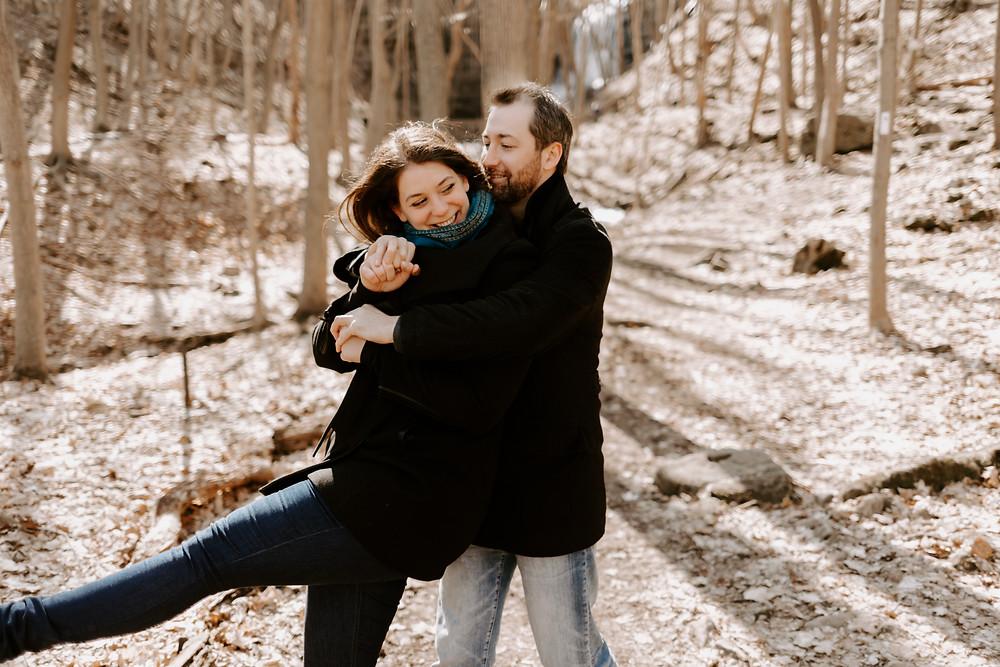 Hamilton Waterfall Engagement, Toronto Wedding Photographer, Danica Oliva Photography