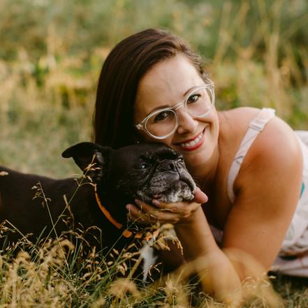 Luna & Steph's Waterfront Pet Session | Toronto Pet Photographer | Danica Oliva Photography