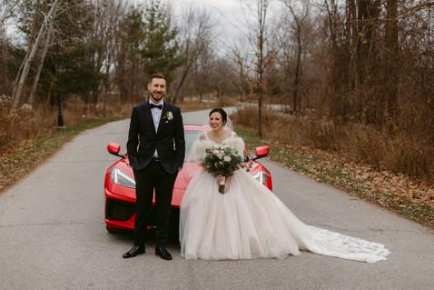 Kim & Fabio's Intimate Covid Wedding | Oakville ON | Danica Oliva Photography