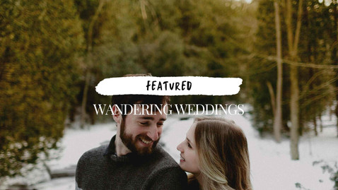 Featured on Wandering Weddings | Snowy Anniversary Session | Danica Oliva Photography