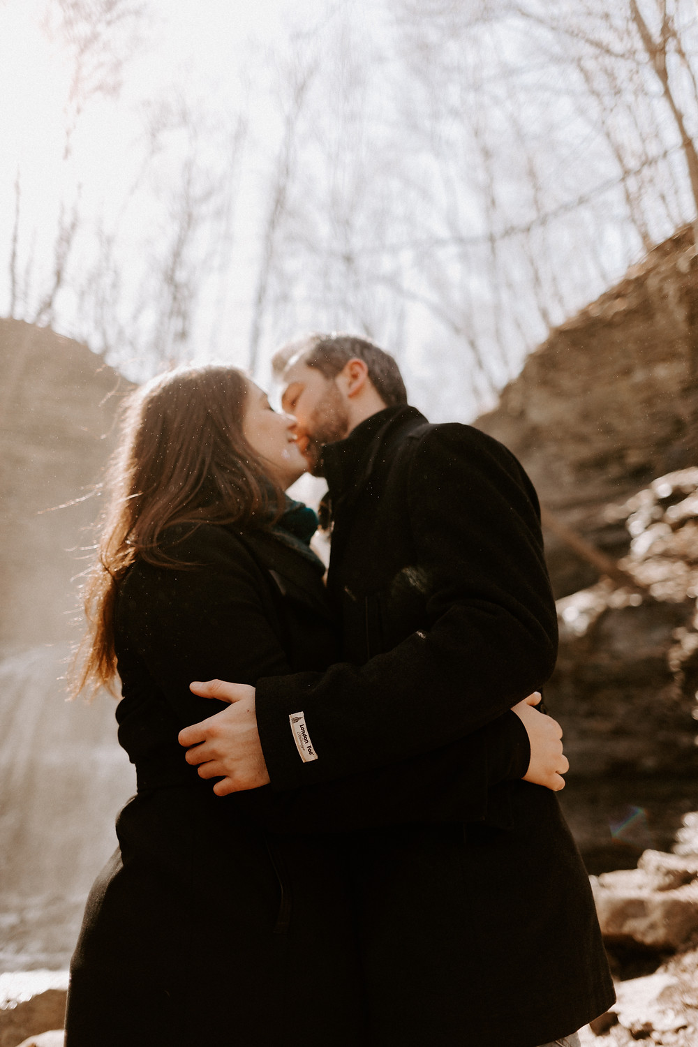 Hamilton Waterfall Engagement, Toronto Wedding Photographer, Danica Oliva Photography, Moody & Intimate Wedding Photographer, Ontario Wedding Photographer,