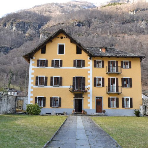 Casa Landfogto Cevio - 1999
