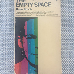 The Empty Space by Peter Brook