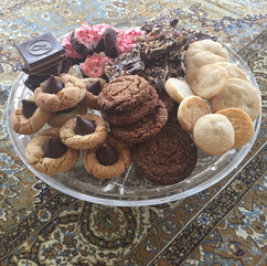 Christmas Cookies baked with Mom