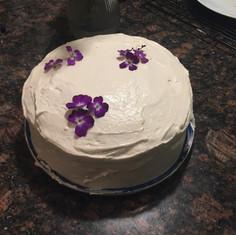 Carrot Cake baked in BK