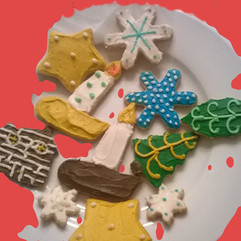 Classic Christmas Cookies baked in Charlottesville, VA