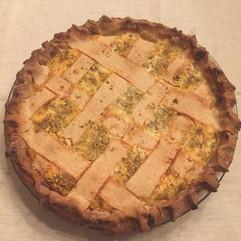 Easter Ricotta Pie - Nana's Recipe