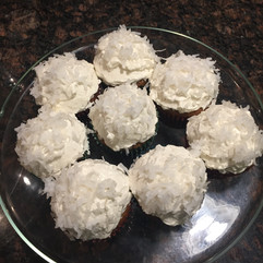 Carrot Cake Cupcakes with Coconut Buttercream baked on Eastern Parkway