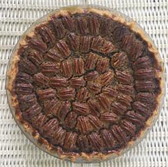 Pecan Sweet Potato Pie baked in Virginia